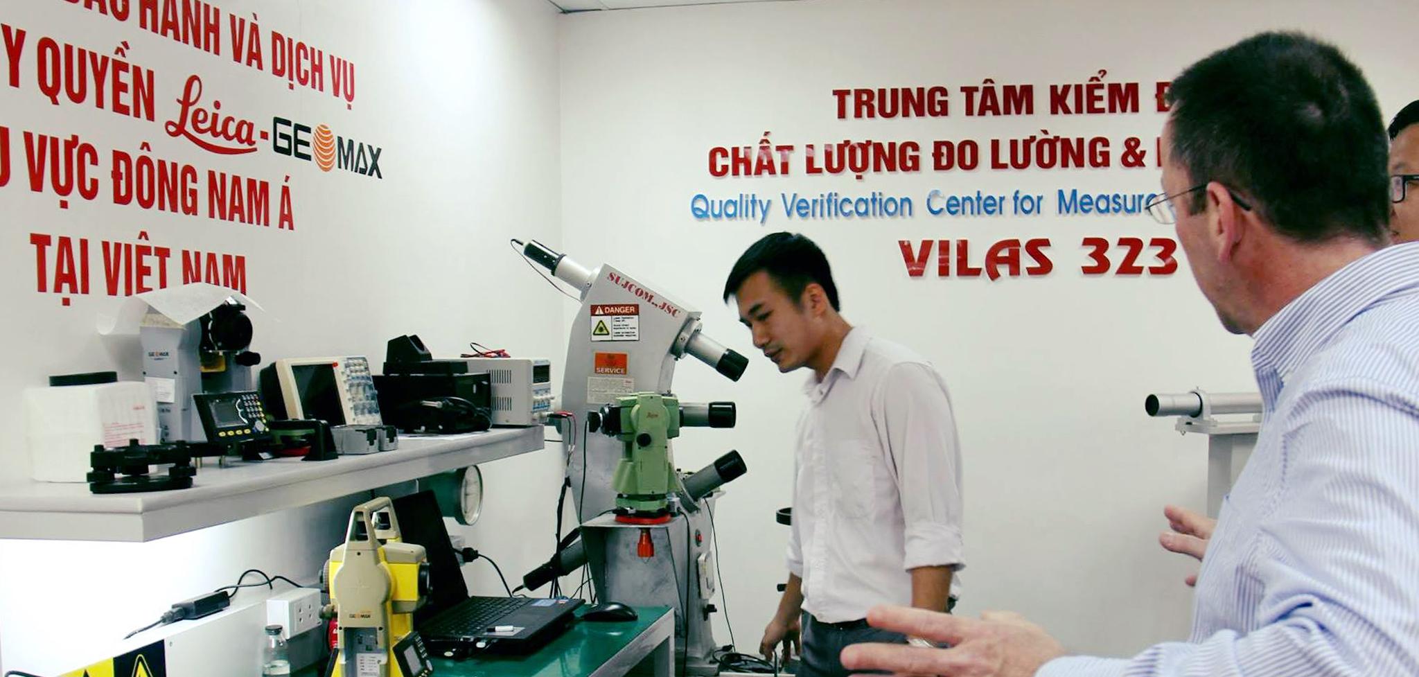 phòng sửa chữa hiệu chuẩn kiểm định thiết bị trắc địa VILAS232